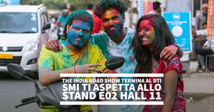 The India road show termina al DTI. SMI ti aspetta allo stand E02 Hall 11