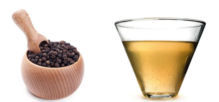 Black pepper-based beverage induces appetite-suppressing effects