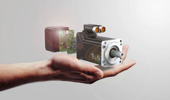 The compact motor-mounted drives facilitate the development of modular plants and machinery.