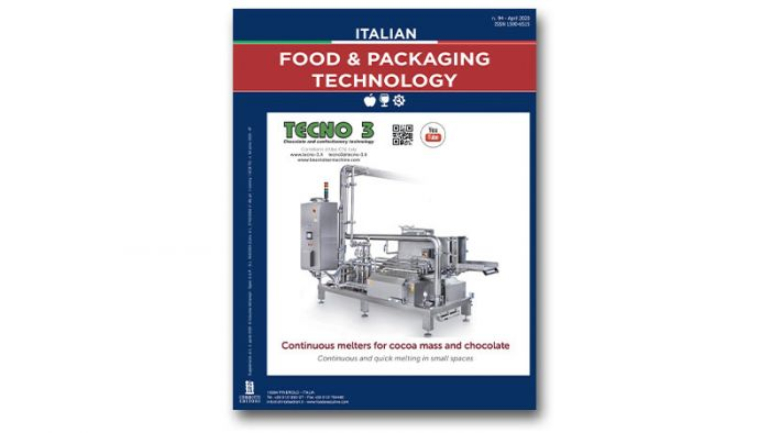 È uscito il nuovo numero di Italian Food & Packaging Technology