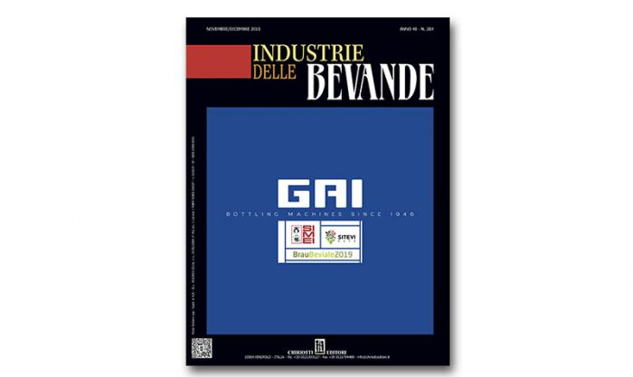 "The new issue of ""Industrie delle Bevande"" is now available"